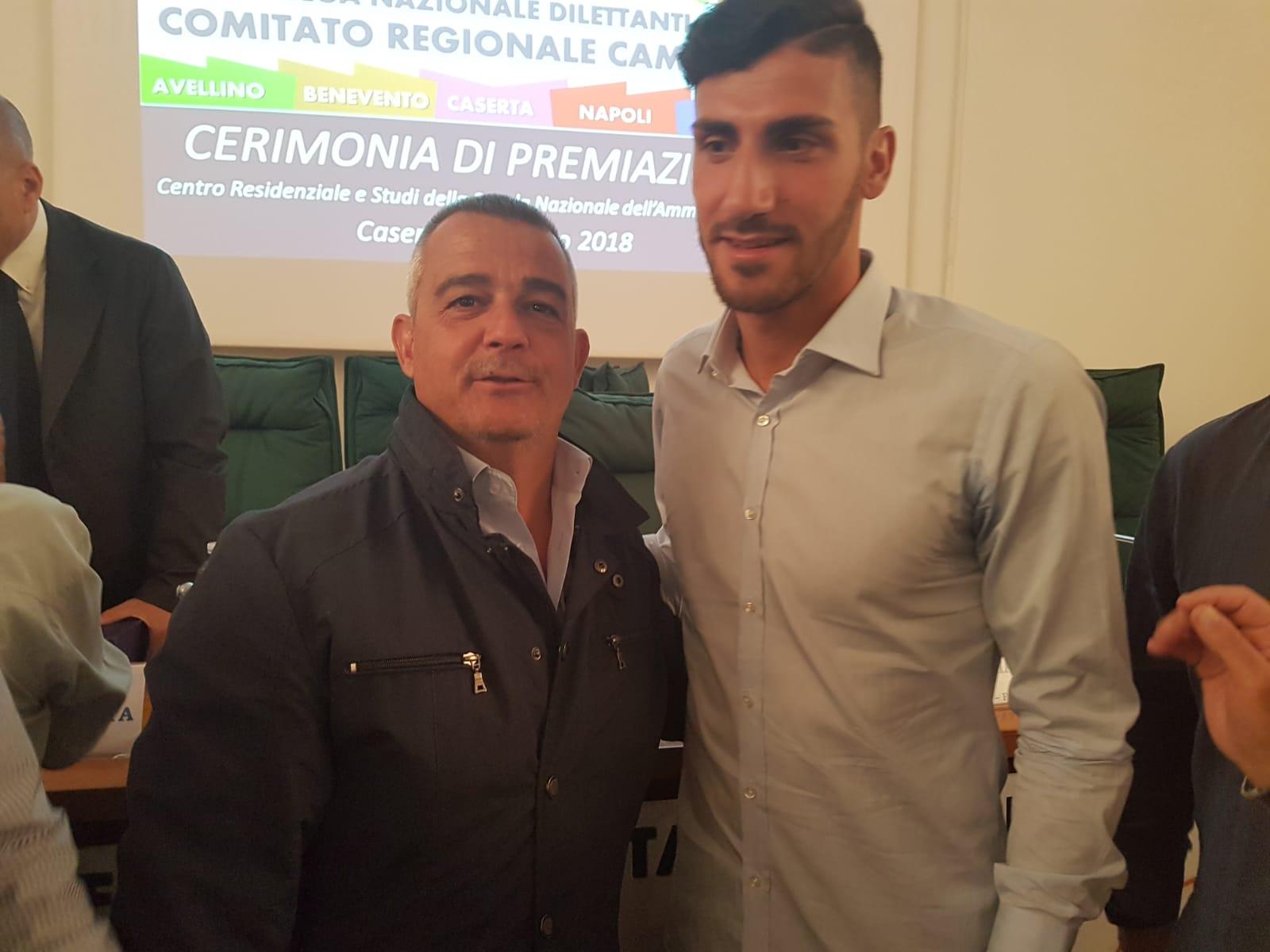 Premiazione FIGC Benemerenze ASD Mondragone Calcio
