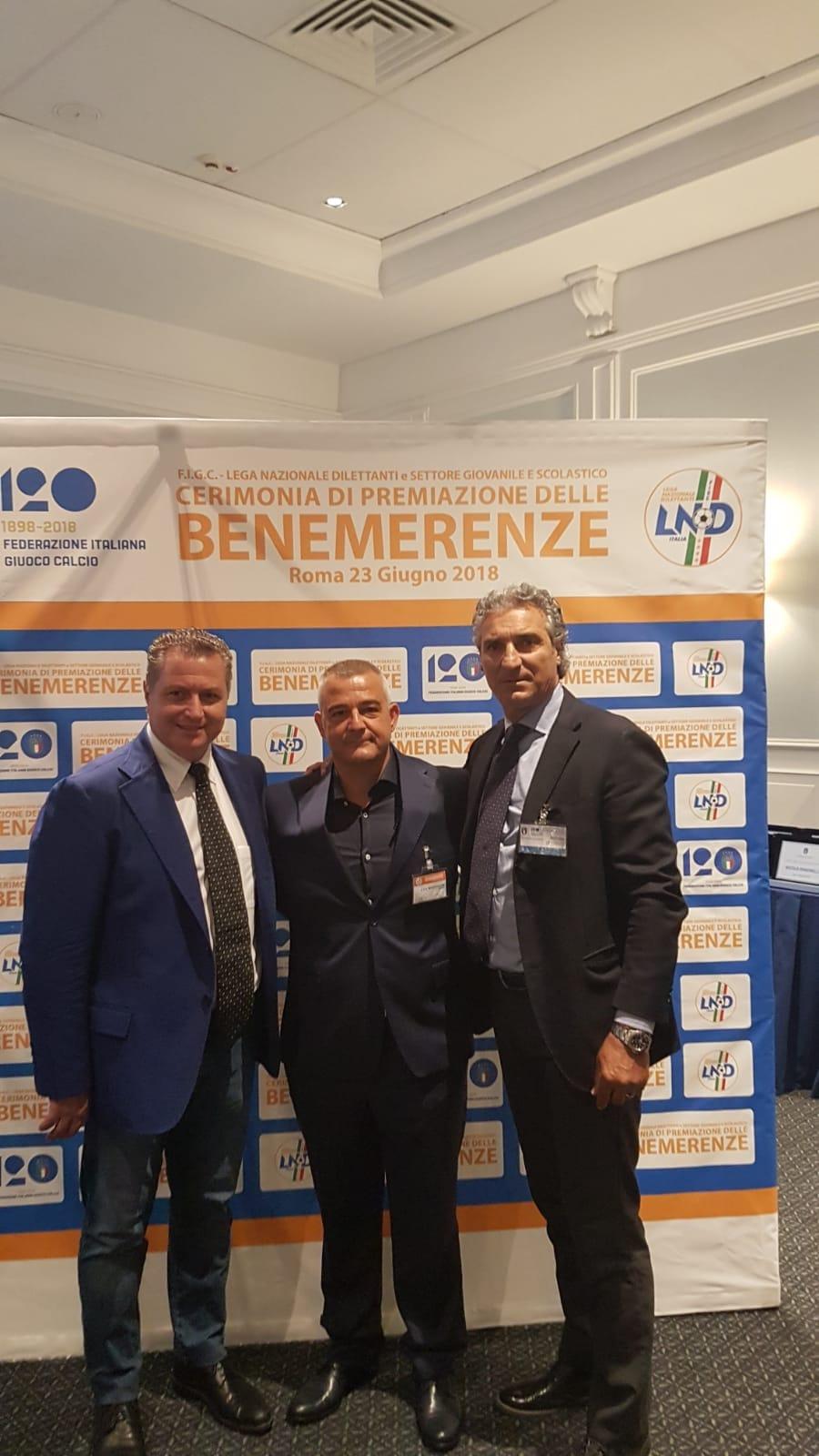 Premiazione FIGC Benemerenze ASD Mondragone Calcio - 2