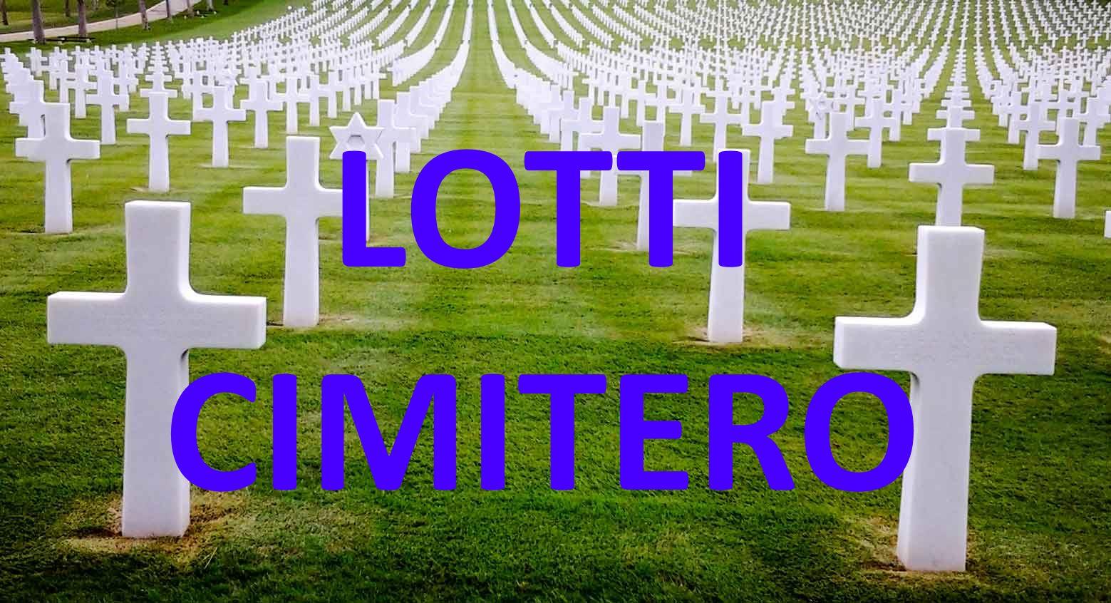 Lotti cimitero