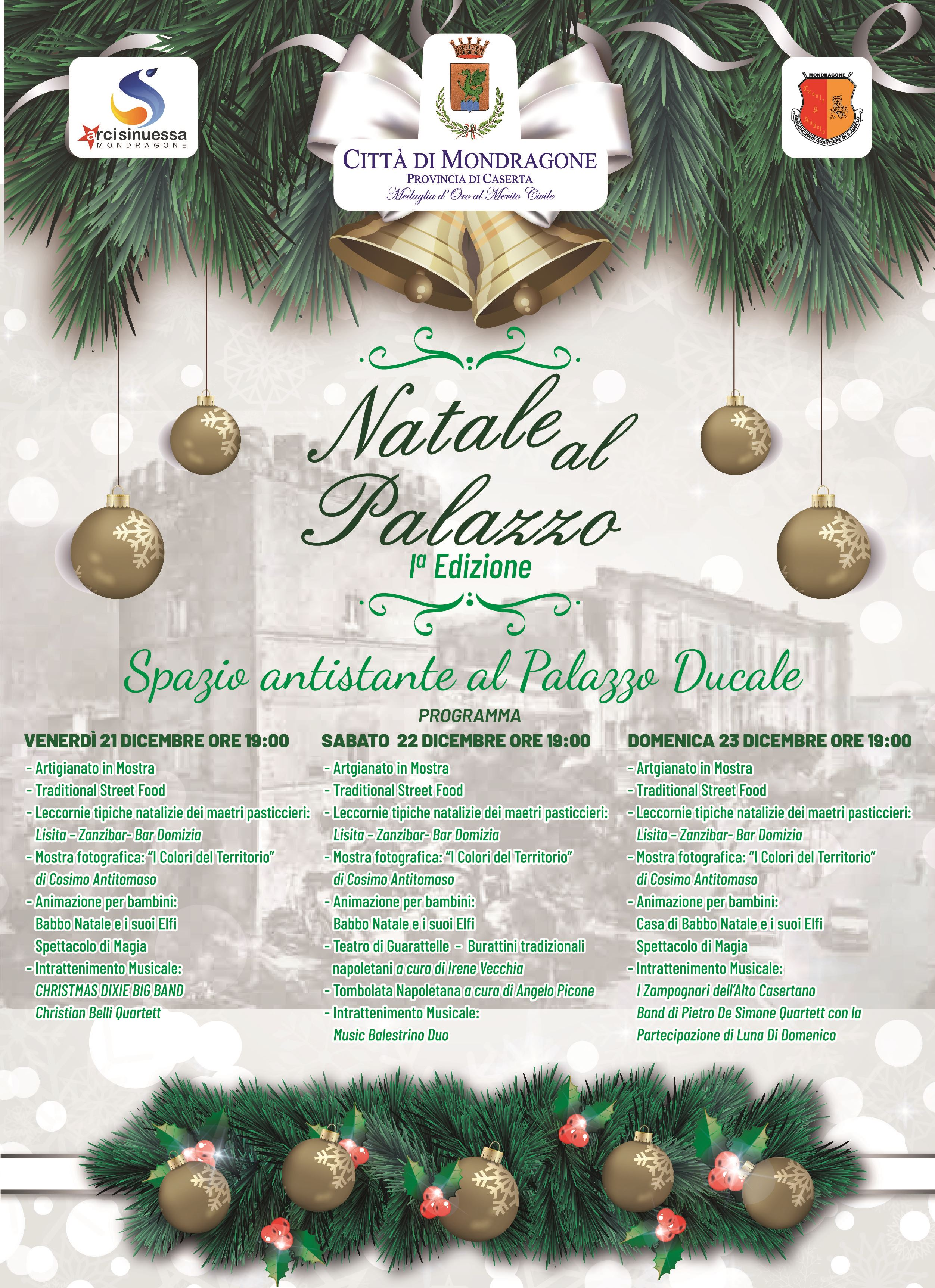 Natale al Palazzo Ducale 2018