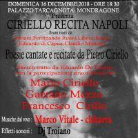 Associazione Culturale Quintascena - Ciriello reci