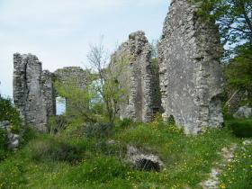 Mura esterne castello